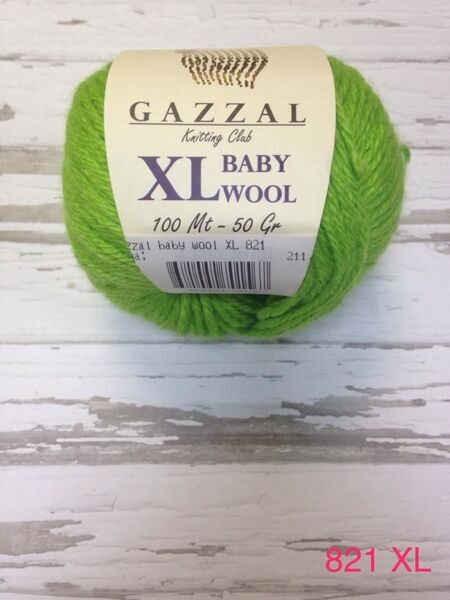 BABY WOOL XL GAZZAL 821 XL