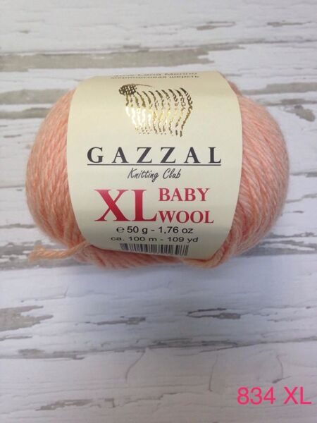 BABY WOOL XL GAZZAL 834 XL