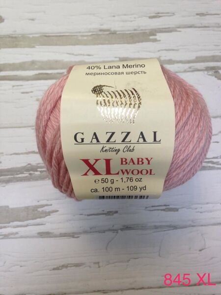 BABY WOOL XL GAZZAL 845 XL